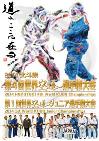 2014 北斗旗 第4回世界空道選手権大会 パンフレット