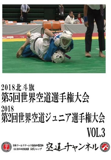 2018北斗旗 第5回世界空道選手権大会/2018第2回世界空道ジュニア選手権大会 VOL.3    2018 5th KUDO Championships Vol.03